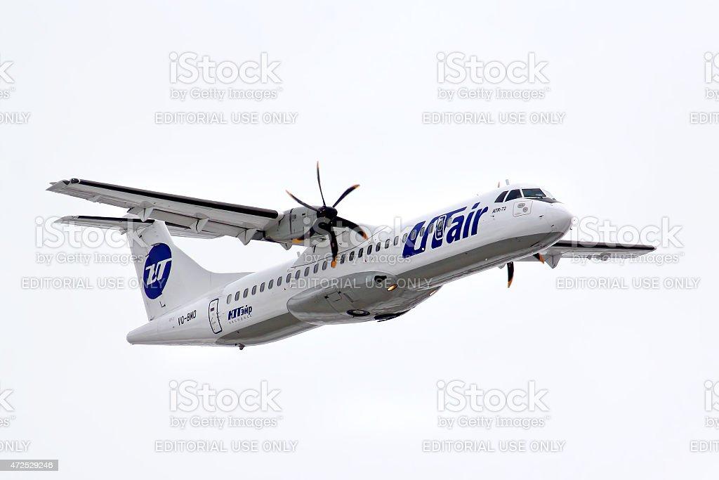 UTair ATR 72 stock photo