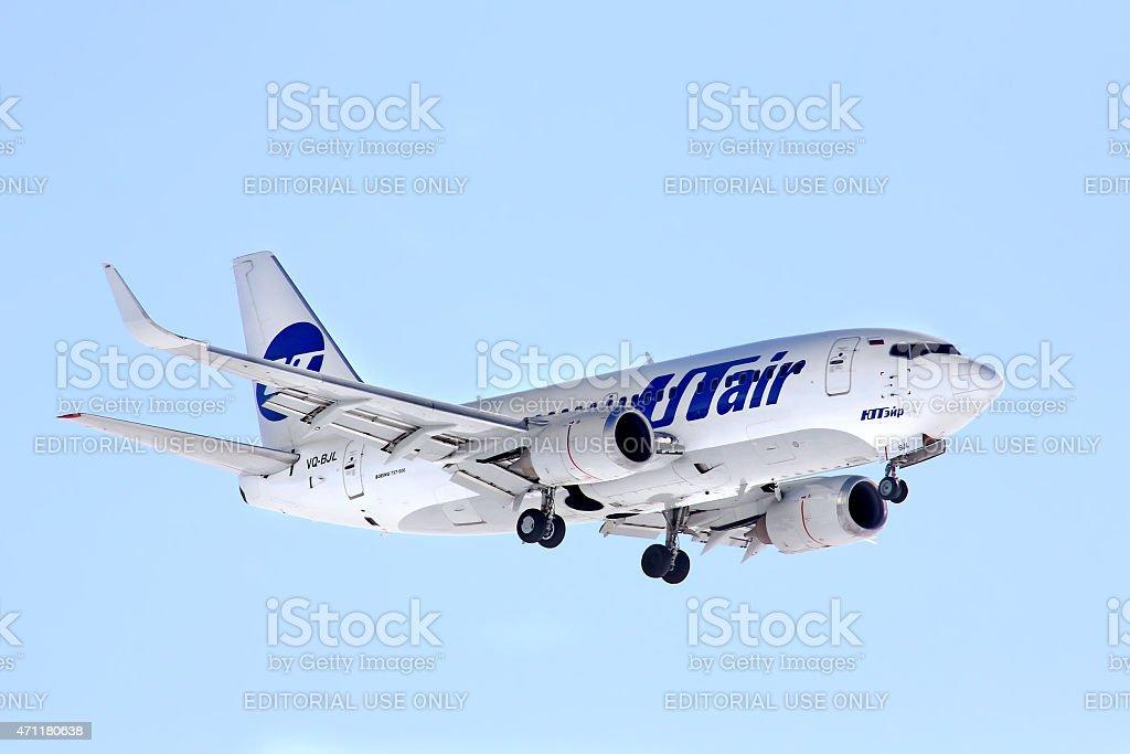 UTair Boeing 737 stock photo