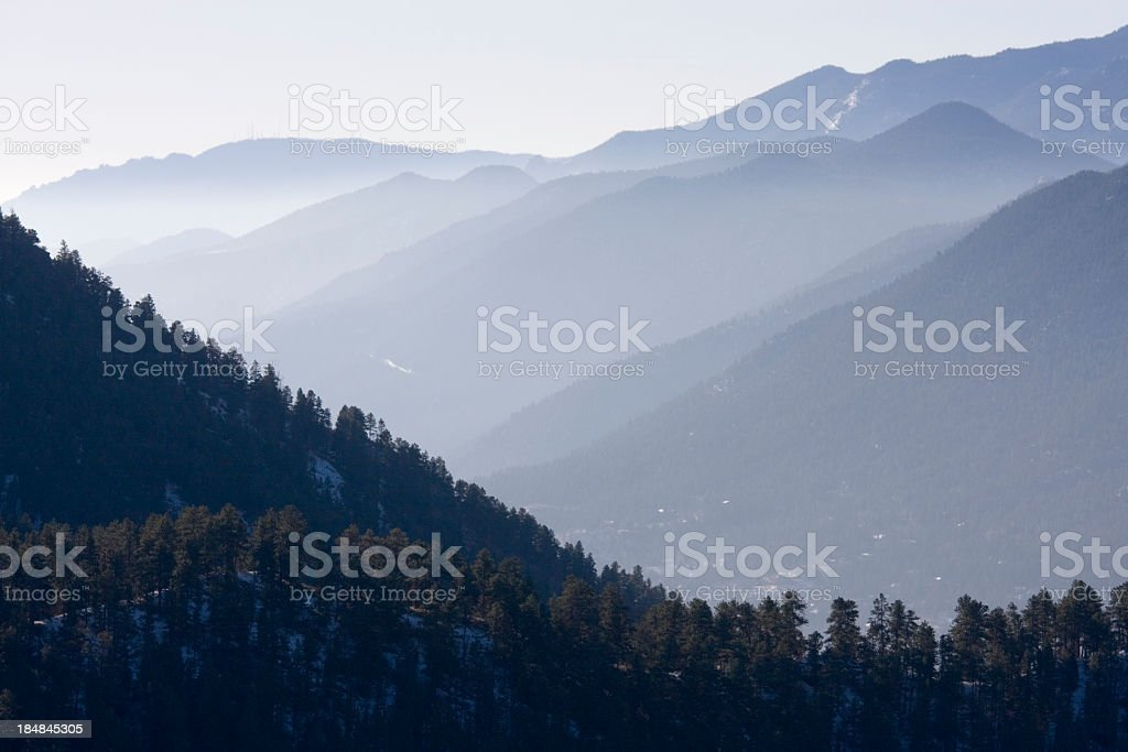 Ute Pass royalty-free stock photo