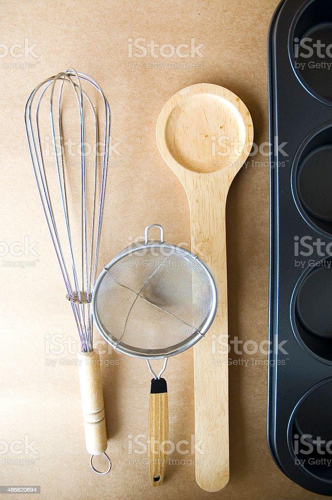 utensil on background stock photo