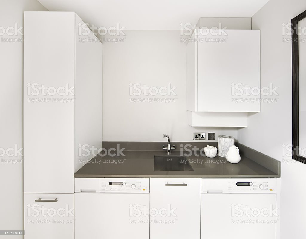 utility room stock photo