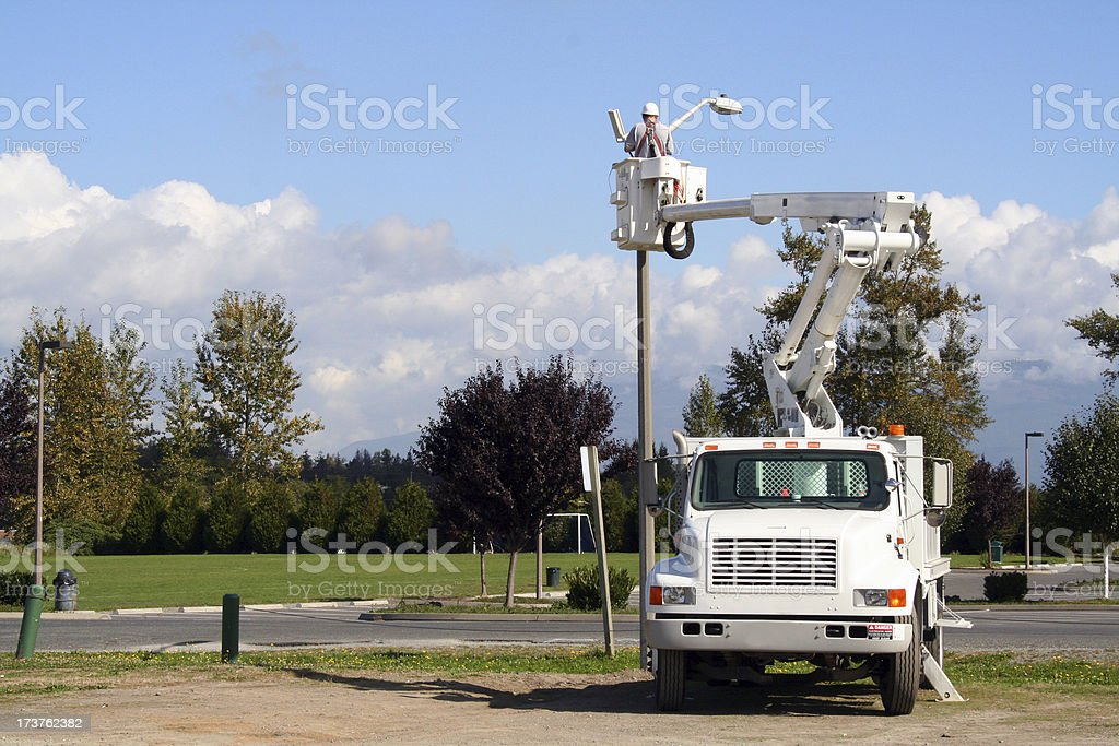 Utility Worker 1 royalty-free stock photo