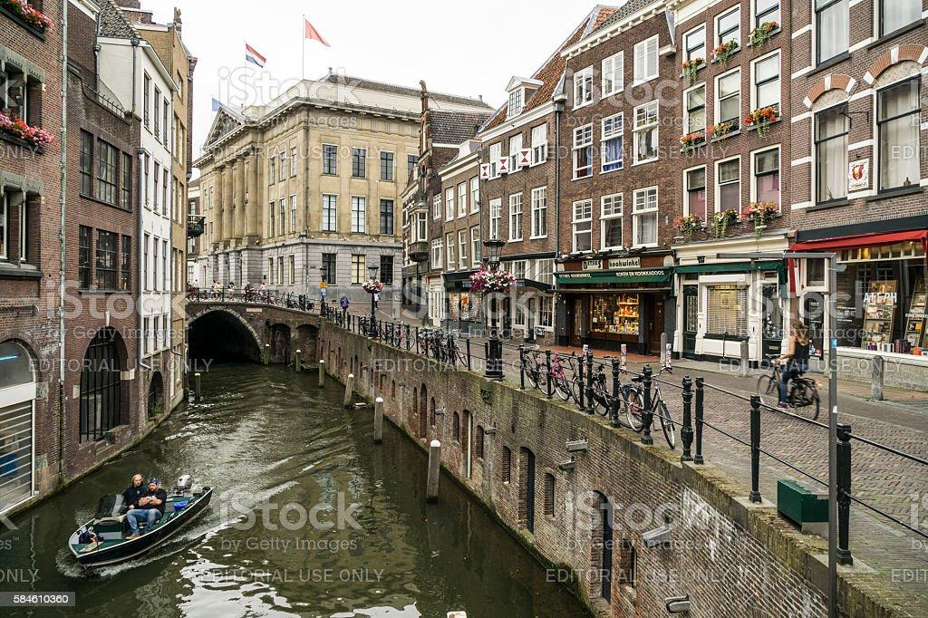Utrecht scene stock photo