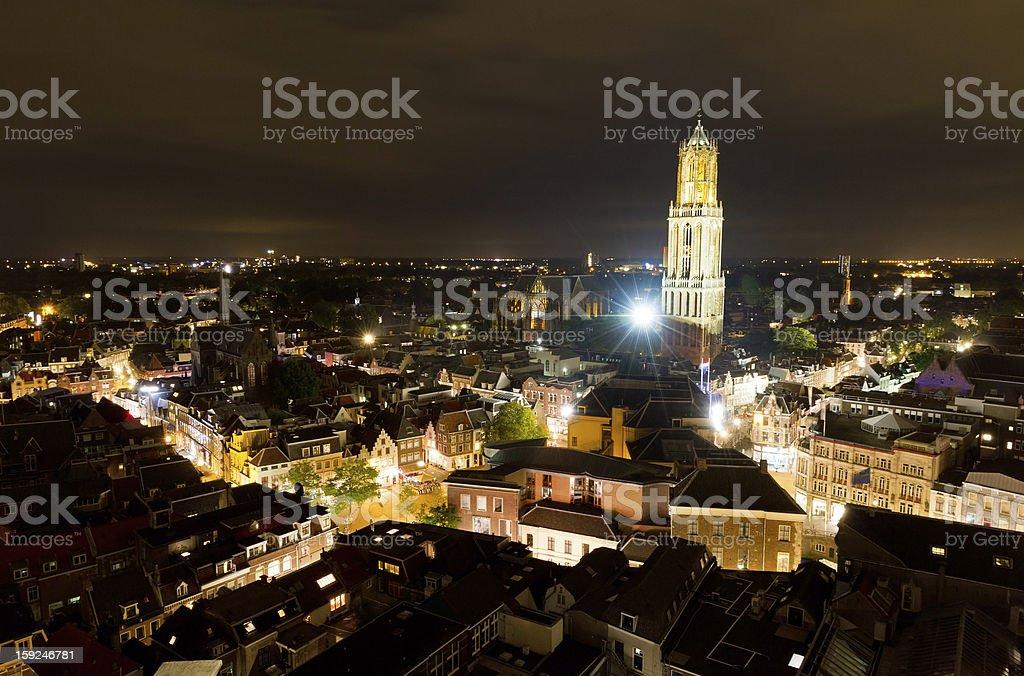 Utrecht skyline stock photo