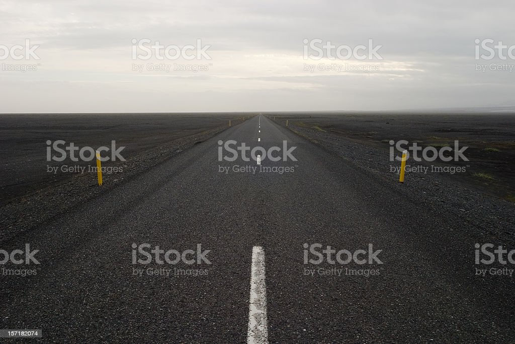 Utter emptiness royalty-free stock photo
