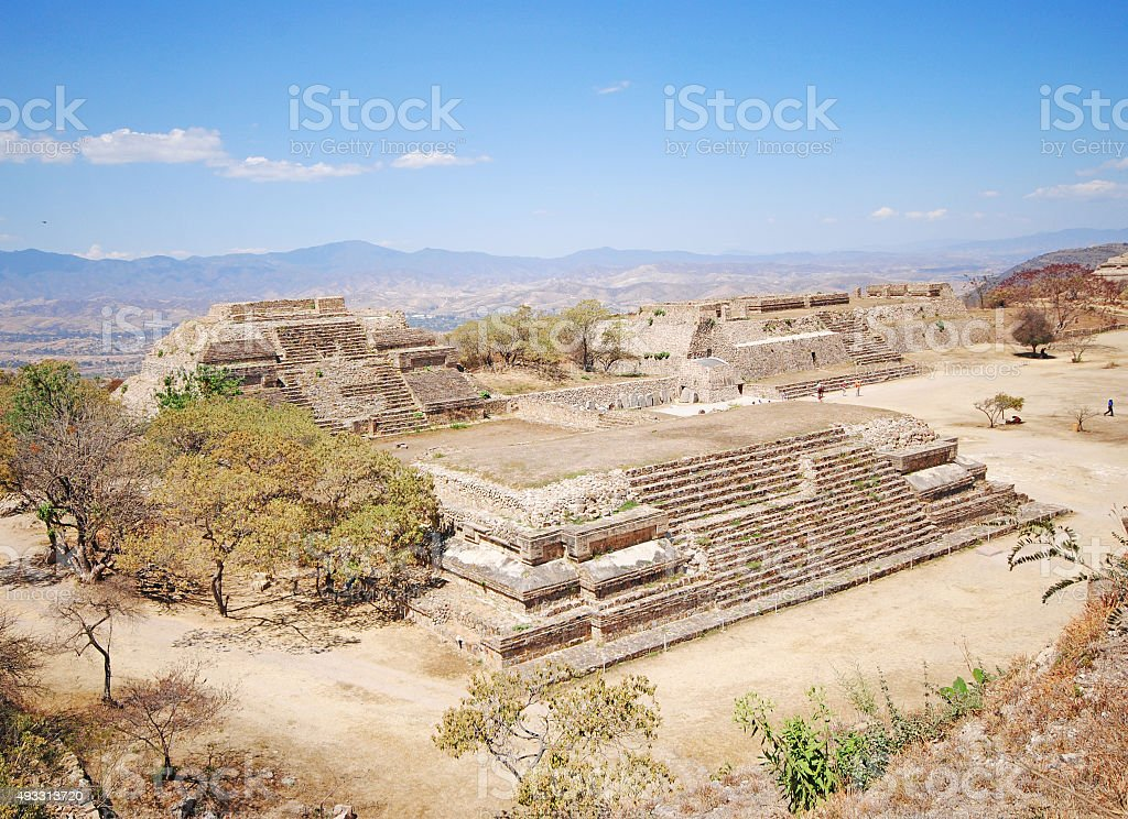 Uxmal ruins, Mexico stock photo