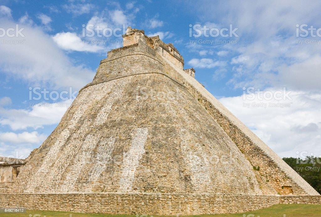 Uxmal - spiritual center of Maya, Yucatan stock photo