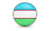 Uzbekistani flag