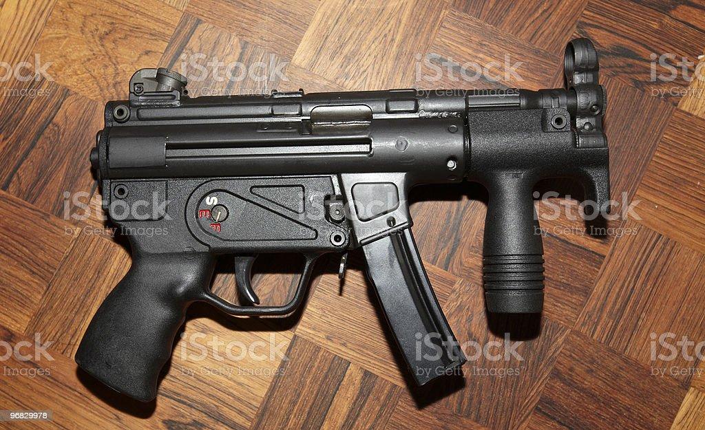 uzi machine gun stock photo
