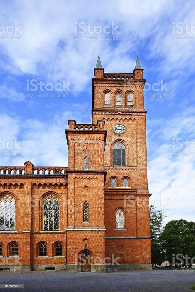 Vaasa Church stock photo