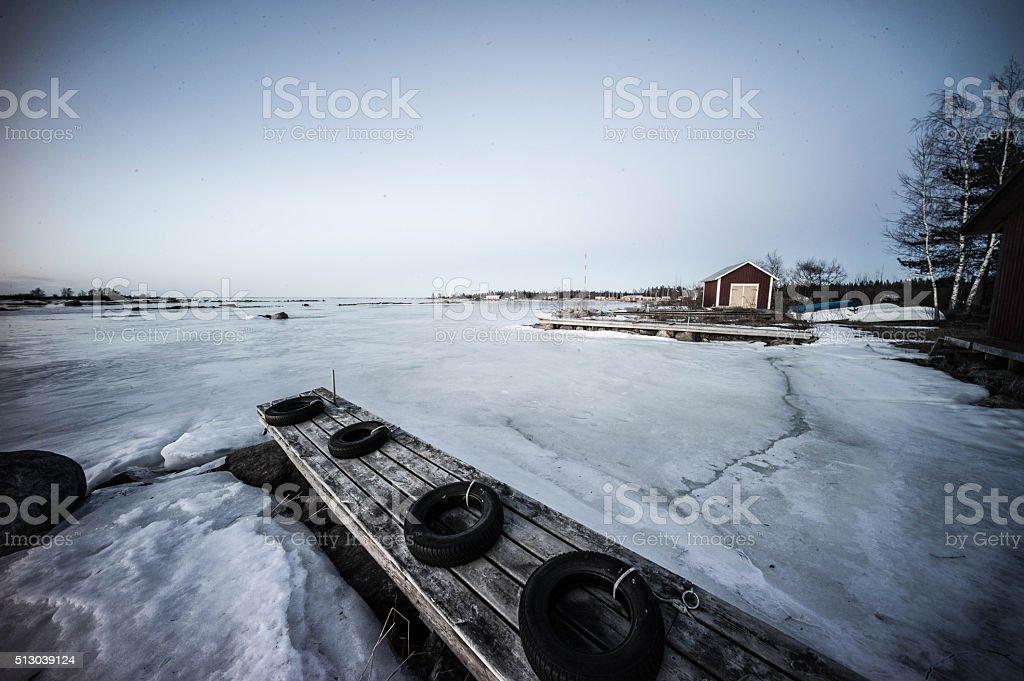 Vaasa Finland stock photo