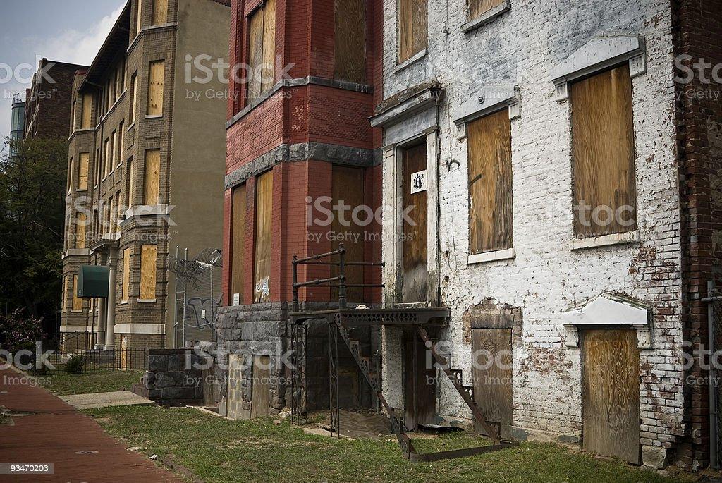 Vacant Homes royalty-free stock photo