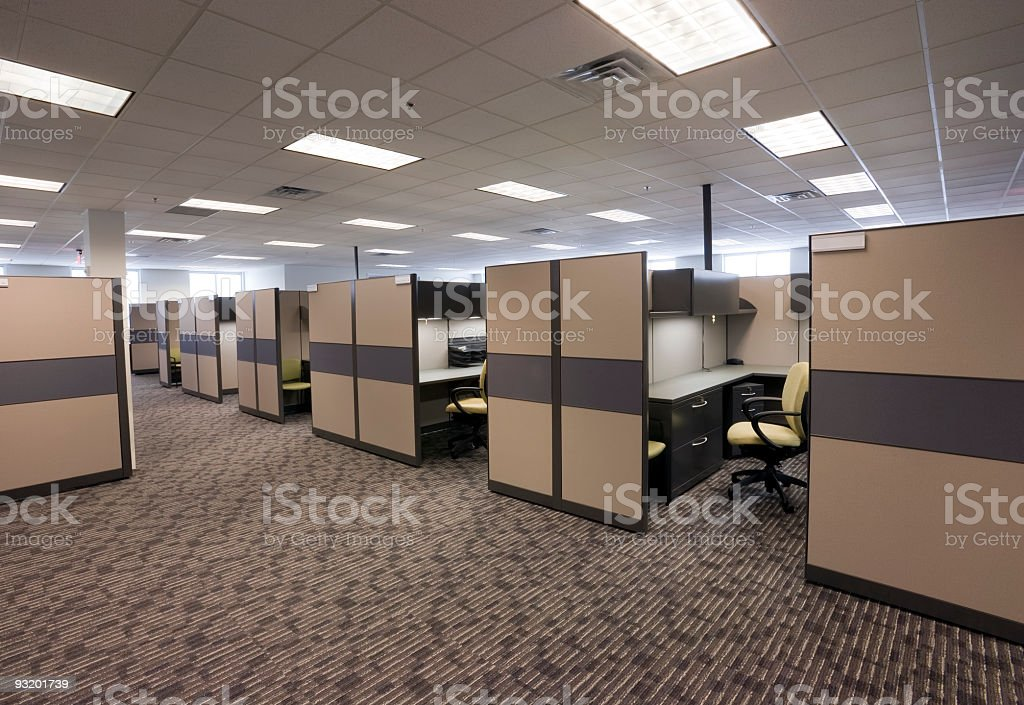 Vacant office #3 stock photo