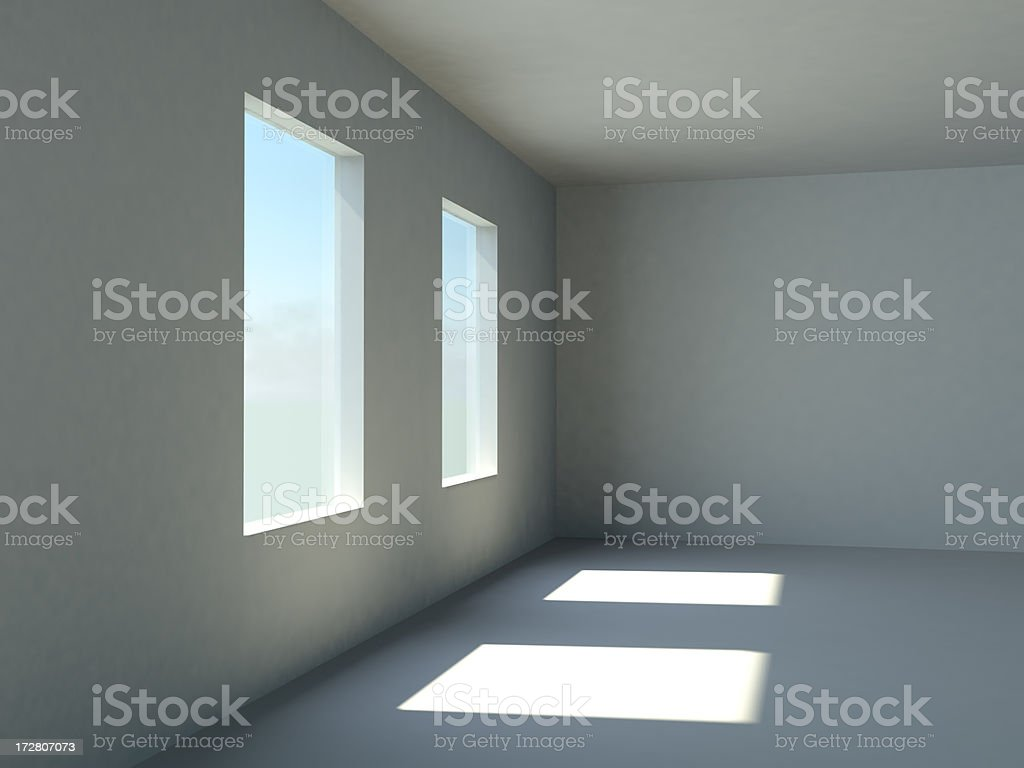 Vacant Room XXXL royalty-free stock photo
