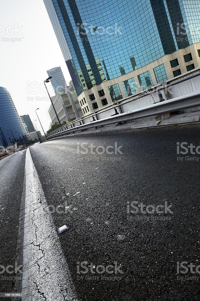 Vacant Urban Street royalty-free stock photo