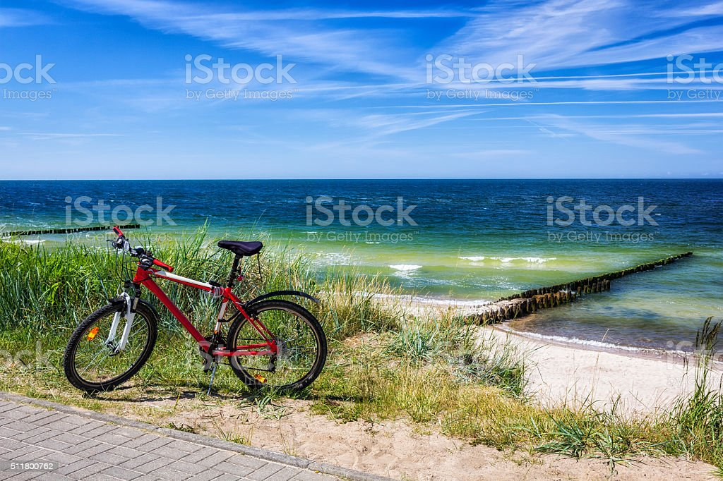 Vacation at the seaside stock photo