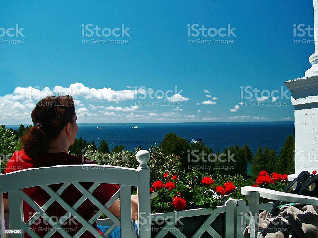 Vacation Bliss royalty-free stock photo