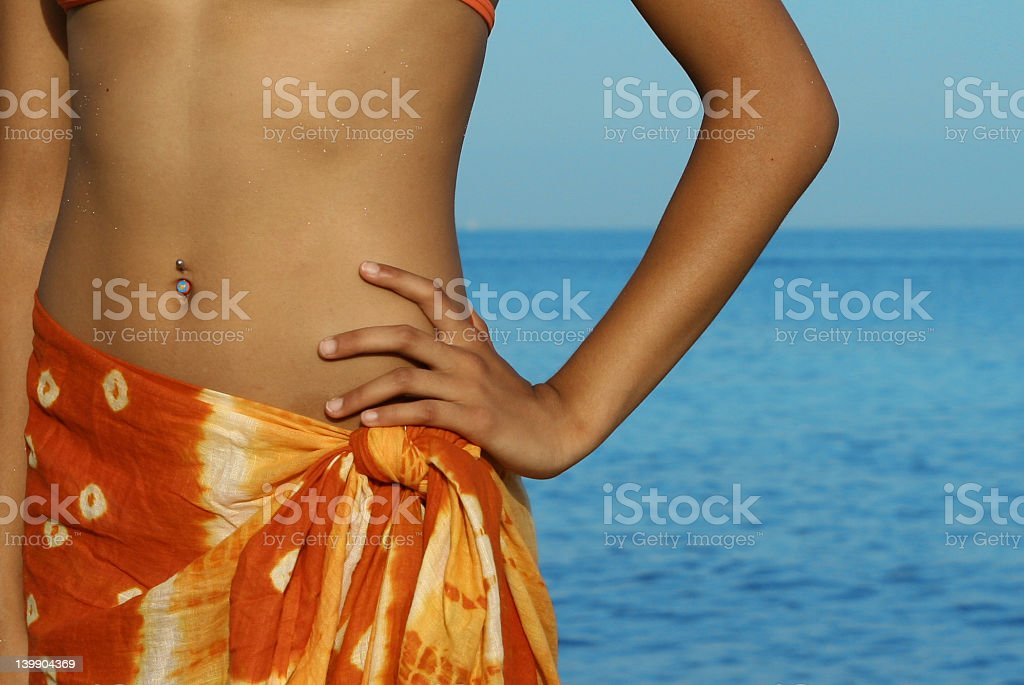 vacation by the sea royalty-free stock photo