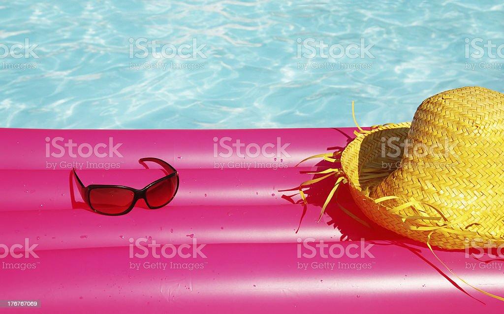 Vacation equipment royalty-free stock photo