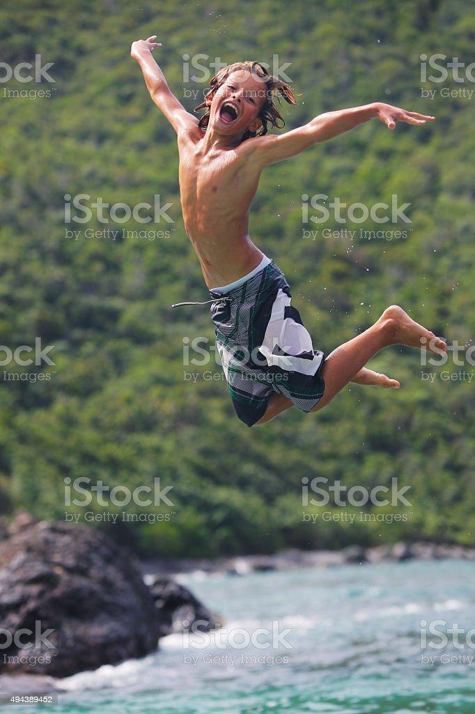 Vacation Fun stock photo