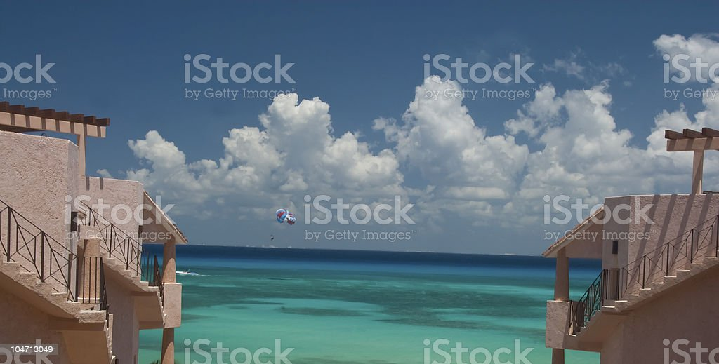 Vacation Heaven royalty-free stock photo