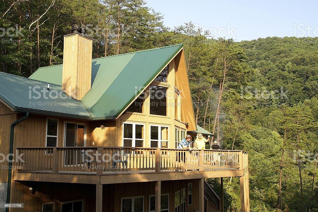 Vacation Home royalty-free stock photo