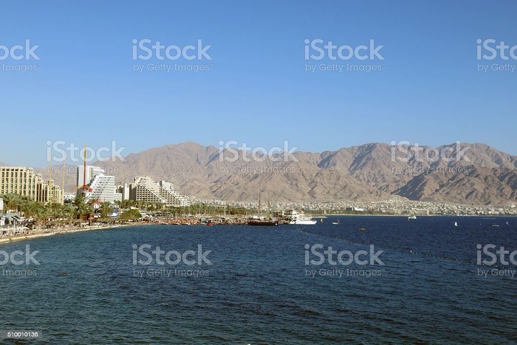 vacation In Eilat  Israel stock photo