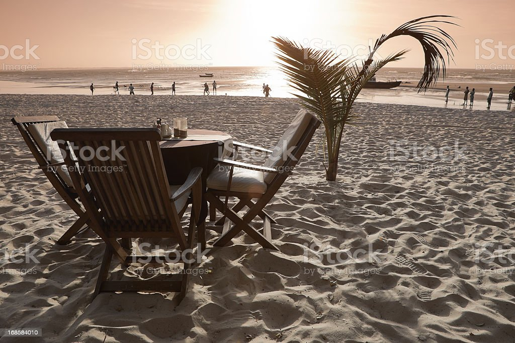 Vacation in Jericoacoara Beach, Ceara, Brazil stock photo