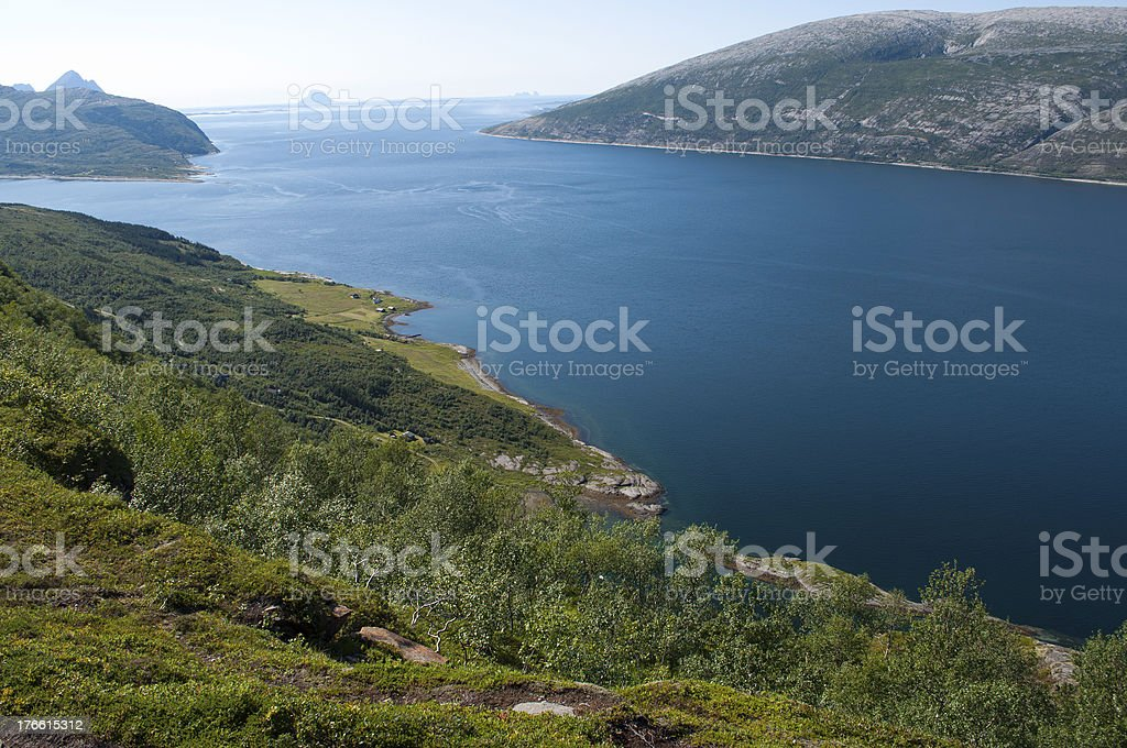 Vacation in Norway royalty-free stock photo