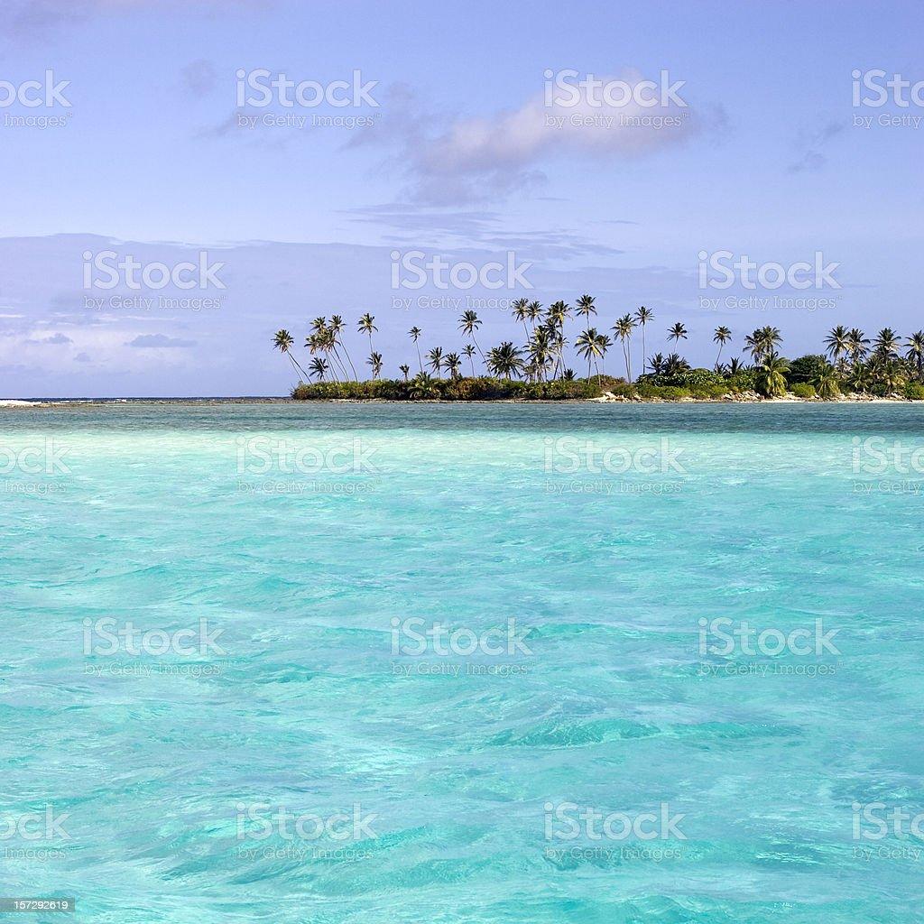 vacation island royalty-free stock photo