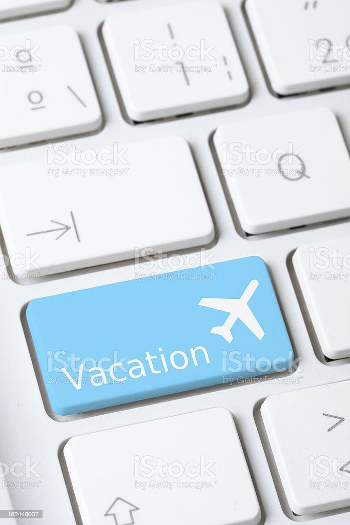 Vacation key royalty-free stock photo