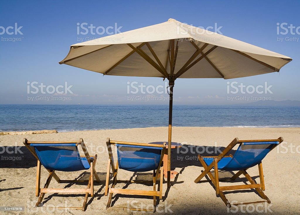 Vacation on the Beach royalty-free stock photo