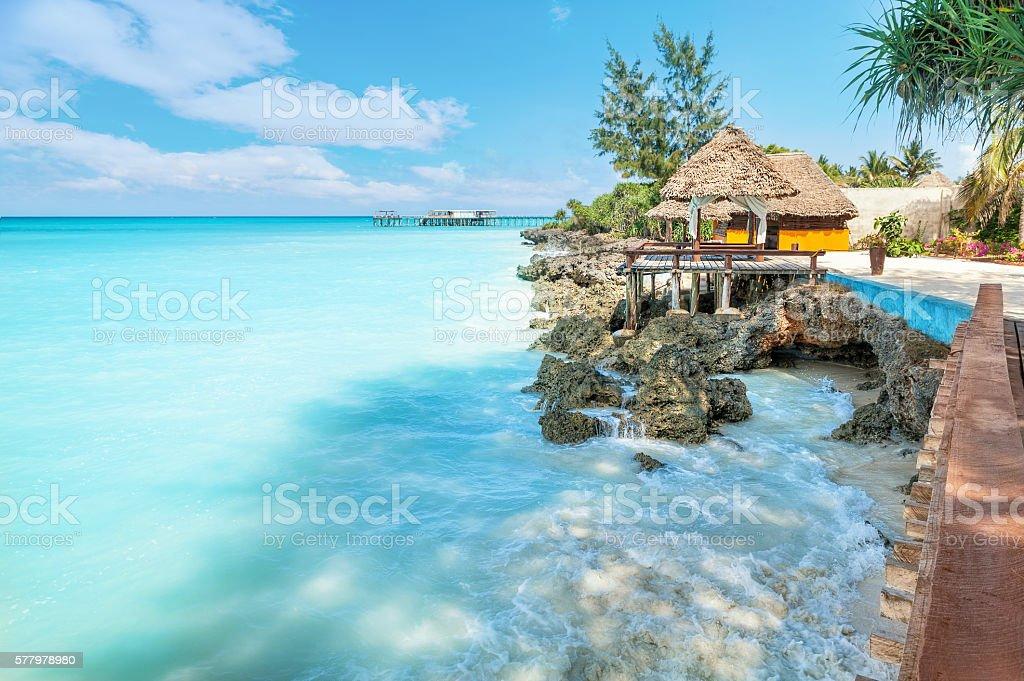 Vacation on Zanzibar stock photo