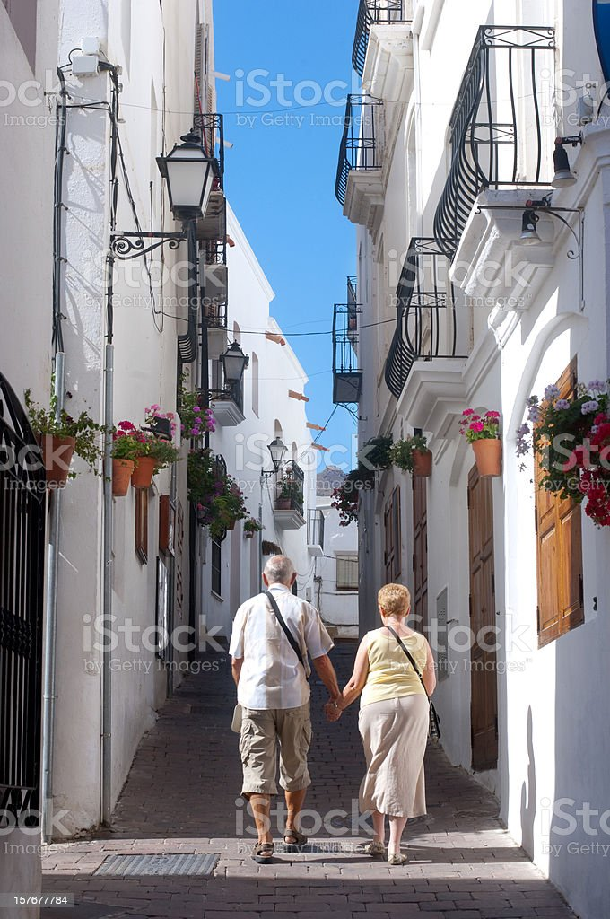 vacation or new home for expatriates royalty-free stock photo