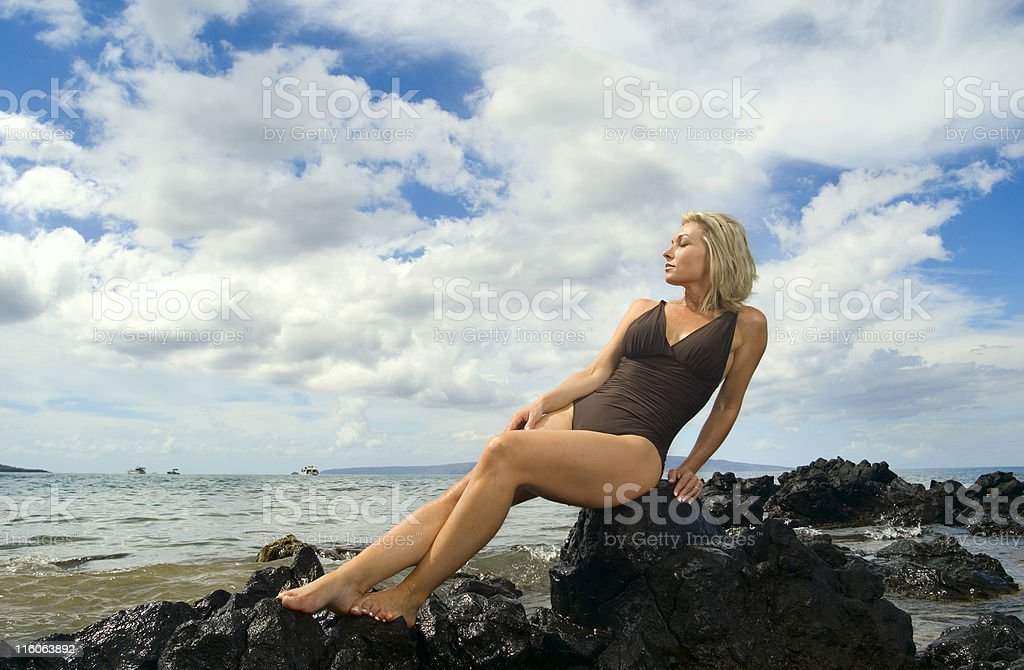 Vacation Portrait royalty-free stock photo