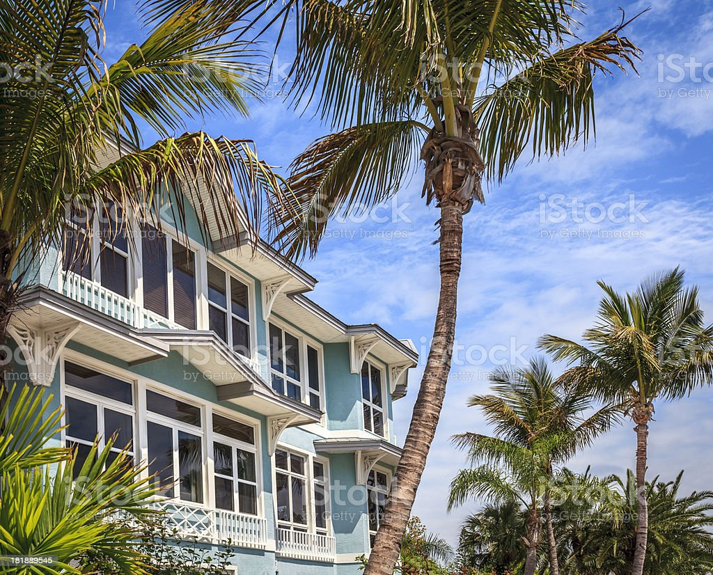 Vacation Resort in the Tropics stock photo