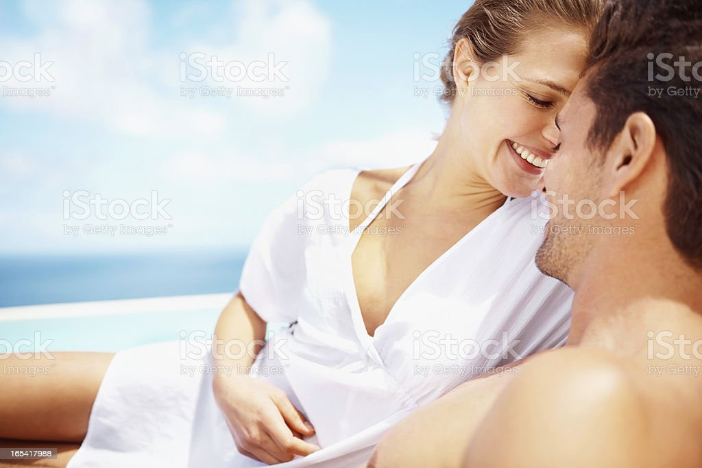 Vacation romance royalty-free stock photo