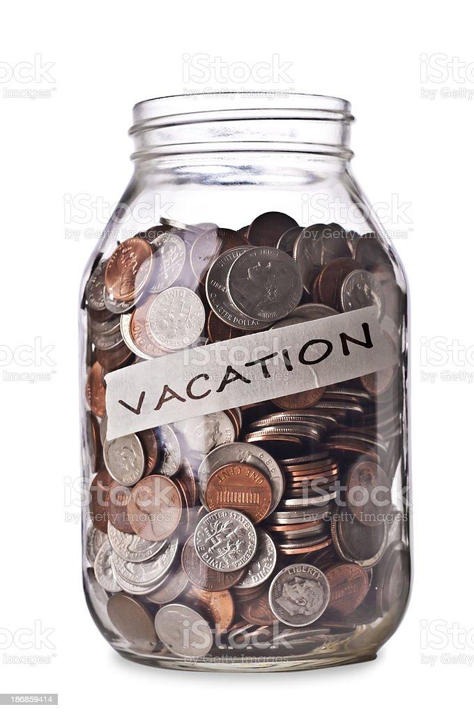 Vacation Savings royalty-free stock photo