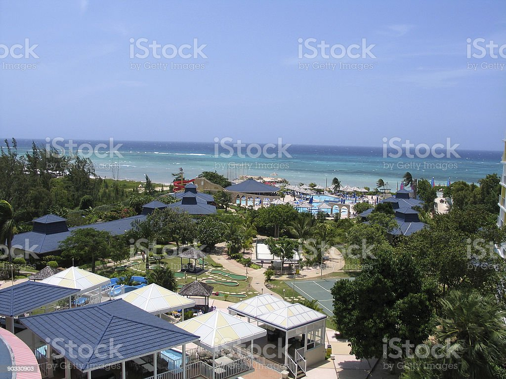Vacation Spot stock photo