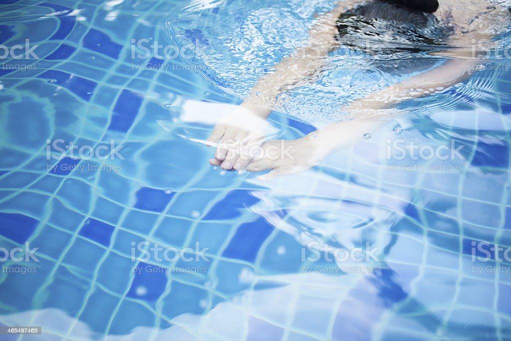 Vacation Swimming royalty-free stock photo