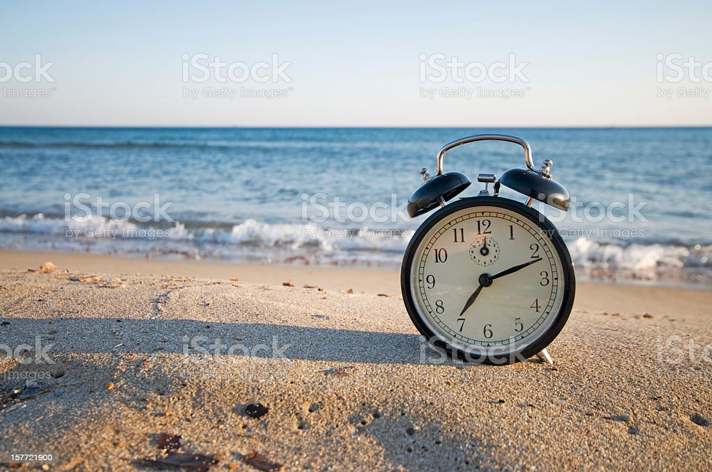 vacation time royalty-free stock photo