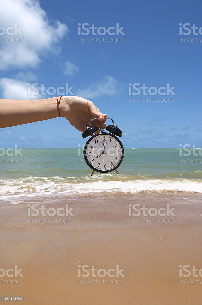Vacation Time (Brazil) royalty-free stock photo