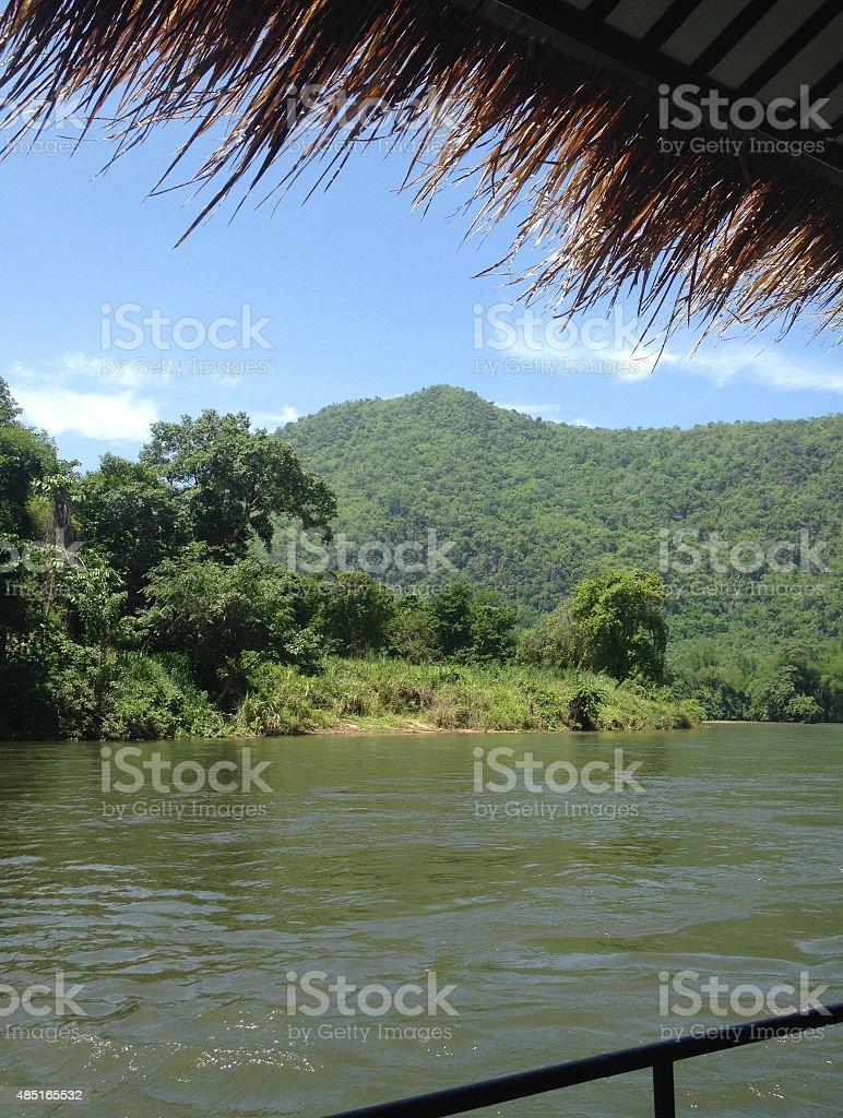 vacation, Попробуйте рафтинг на riverside Стоковые фото Стоковая фотография