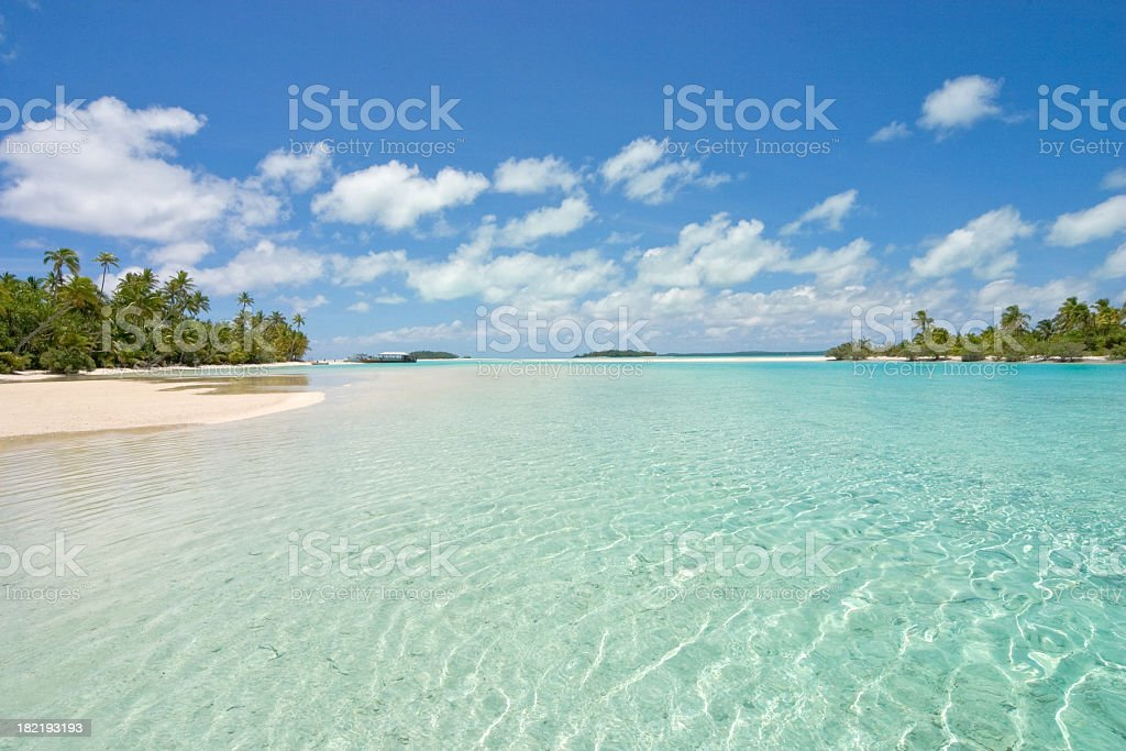 Vacation to South Pacific royalty-free stock photo