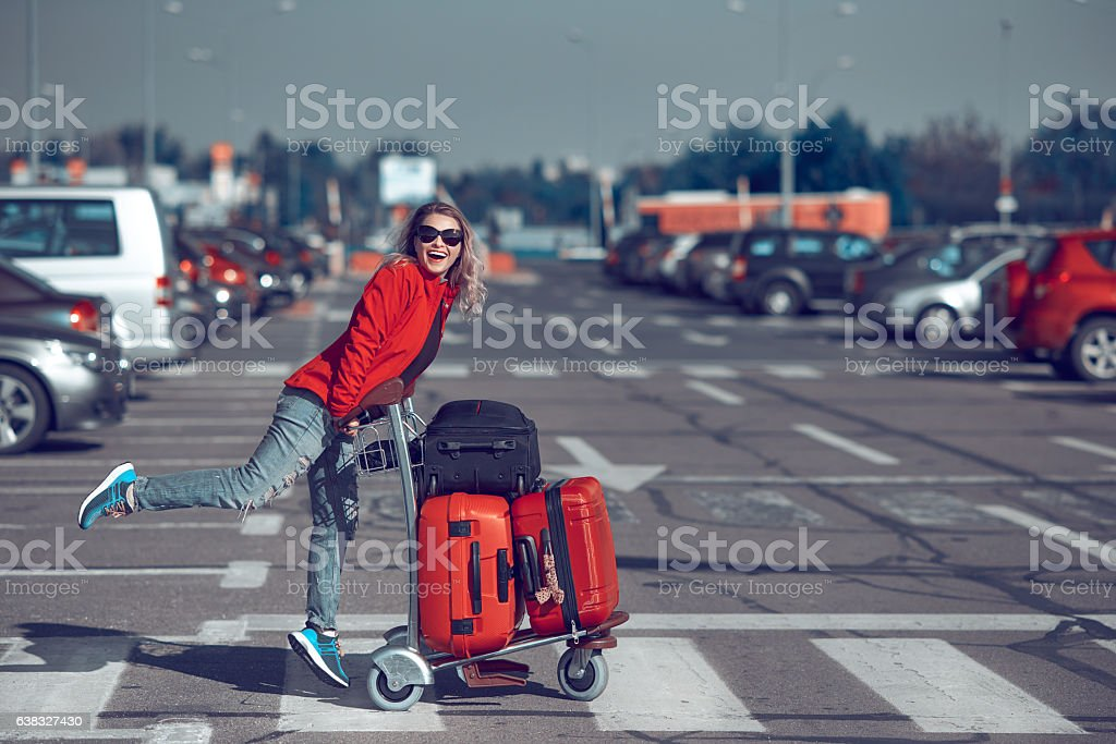 vacation, travel, happiness stock photo