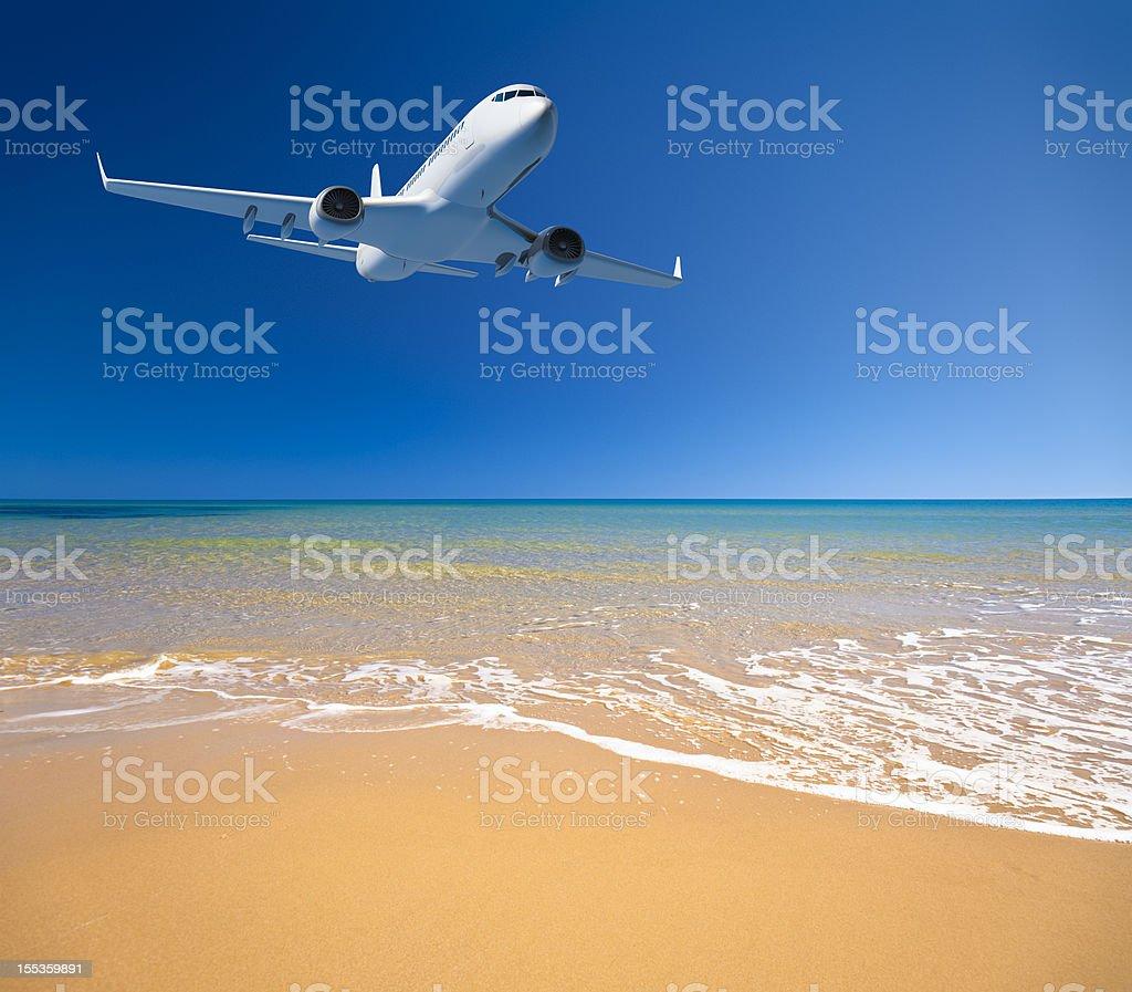 Vacation travel royalty-free stock photo