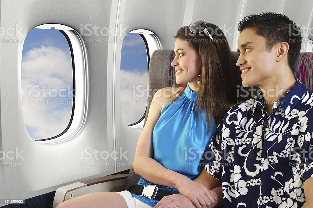 Vacation Travelers royalty-free stock photo