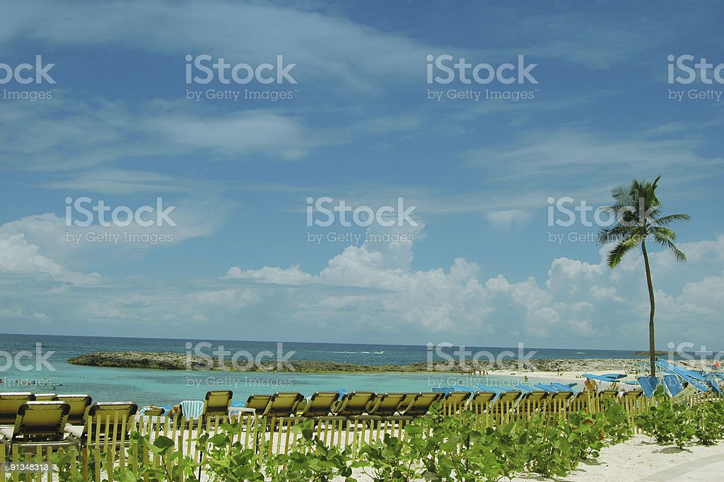Vacation view royalty-free stock photo