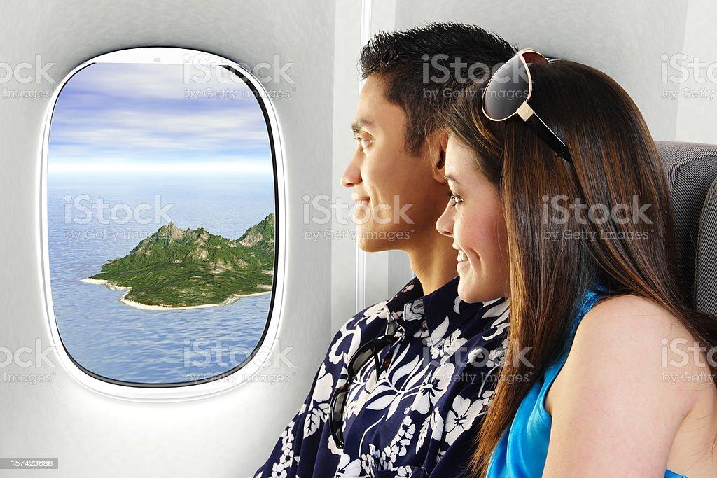 Vacationing Couple royalty-free stock photo