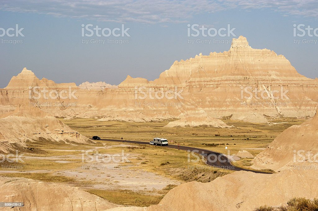 Vacationing in an RV 3 royalty-free stock photo